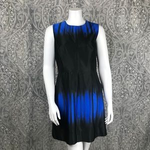 Milly Coco Ombre Full A Line Dress 10